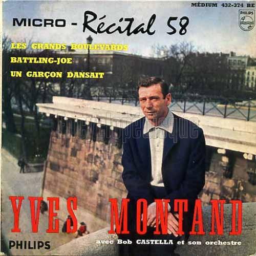 Yves Montand - Dansez Avec Yves Montand