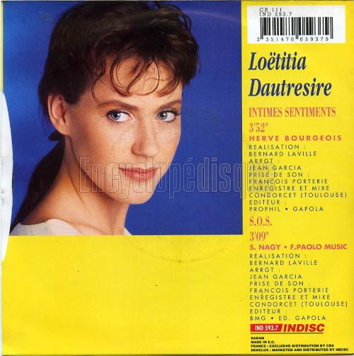 Loetitia Dautresire - Un Message A Donner