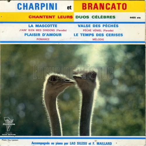 Charpini Et Brancato - La Mascotte / Péché Véniel / Le Temps Des Cerises / Plaisir D'amour