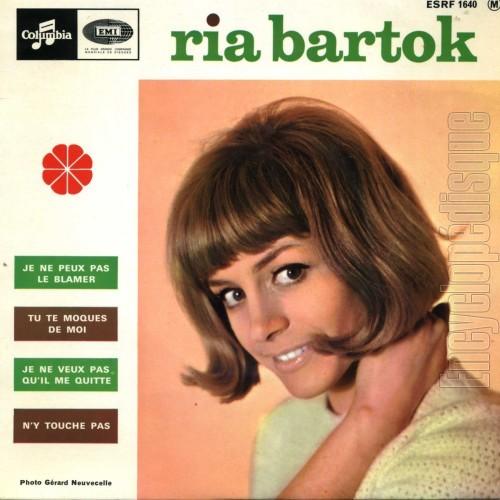 Ria Bartok Tu La Revois