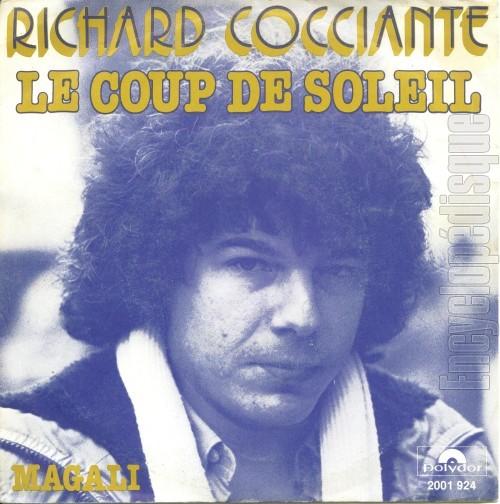 Richard cocciante un coup de soleil - Richard cocciante j ai attrape un coup de soleil ...
