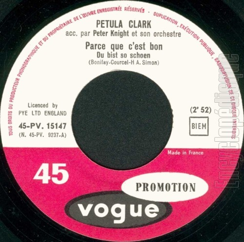 Petula Clark - Chante Ses Succes