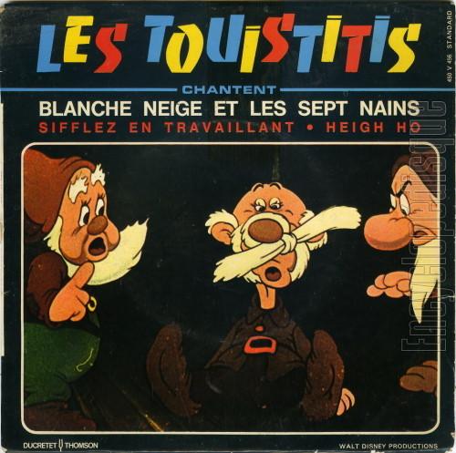 Les Touistitis Les Touistitis Chantent Blanche Neige Et Les Sept Nains