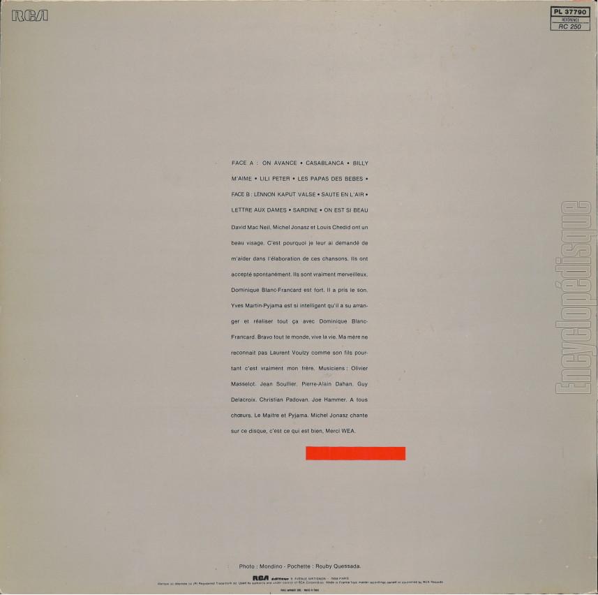 Alain Souchon On Avance Album Downloads