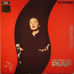 [Pochette de The world of Piaf]
