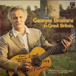 [Pochette de Georges Brassens in Great Britain]
