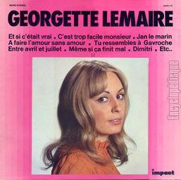 Georgette Lemaire Y Si Fuera Cierto / Deslumbrados Por Nuestro Amor / El / Ya No Canta Igual