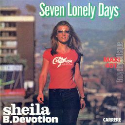 [Pochette de Seven lonely days]