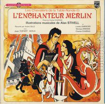 [Pochette de L'enchanteur Merlin (Les Chevaliers de la Table Ronde)]