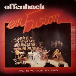 [Pochette de En fusion (avec le Vic Vogel Big Band)]