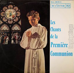 [Pochette de Les chants de la 1ère communion]