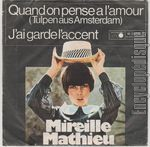 [Pochette de Quand on pense � l'amour]