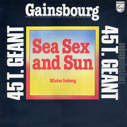 [Pochette de Sea sex and sun (Serge GAINSBOURG)]