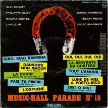 [Pochette de Music-hall parade n°18]