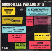 [Pochette de Music-Hall parade n° 17]