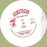 "[Pochette de Armstrong ""Jazz pour vous"" - « Stormy weather »]"