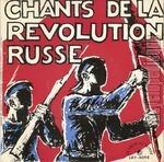 [Pochette de Chants de la révolution russe]