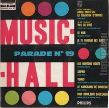 [Pochette de Music-hall parade n° 19]