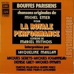 [Pochette de La royale performance]
