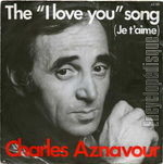 [Pochette de The � I love you � song]