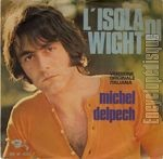 [Pochette de L'isola di Wight (version italienne) (Michel DELPECH)]