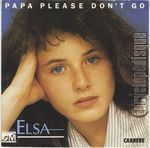 [Pochette de Papa please don't go]
