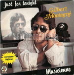 [Pochette de Just for tonight (version anglaise) (Gilbert MONTAGN�)]