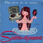 [Pochette de Technique Spatio-dynamic (Teppaz)]