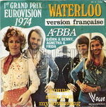 [Pochette de ABBA - « Waterloo »]