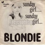 [Pochette de BLONDIE - « Sunday girl »]