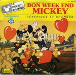 [Pochette de Bon week-end Mickey]