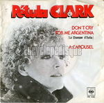 [Pochette de Don't cry for me Argentina]