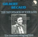 [Pochette de The importance of your love]