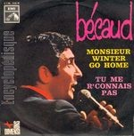 [Pochette de Monsieur Winter go home (Gilbert BÉCAUD)]