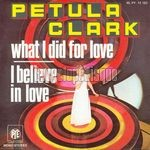 [Pochette de What I Did For Love]