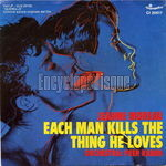 [Pochette de Each man kills the thing he loves]