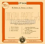 [Pochette de Cocktail-Partie N°5]