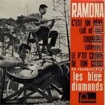 [Pochette de Les BLUE DIAMONDS - « Ramona »]