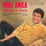 [Pochette de Paul ANKA - « Chante à Paris »]