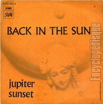 [Pochette de Back in the sun]