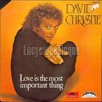 [Pochette de Love is the most important thing]