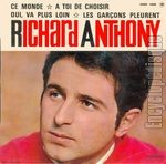[Pochette de Ce monde (Richard ANTHONY)]