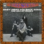[Pochette de Baby I need you back again]
