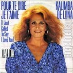 [Pochette de Pour te dire je t'aime (I just call to say I love you)]