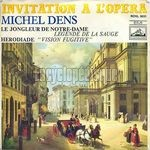 [Pochette de Invitation à l'opéra (Michel Denis)]