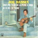 [Pochette de Faut pas faire de la peine � John (You don't mess around with Jim)]