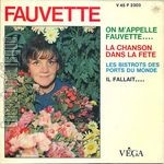 [Pochette de On m'appelle Fauvette…]
