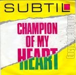 [Pochette de Champion of my heart]