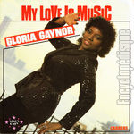 [Pochette de Gloria GAYNOR - « My love is music »]