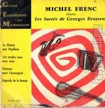 [Pochette de Michel Frenc chante les succ�s de G. Brassens (1�re s�lection) (Michel FRENC)]